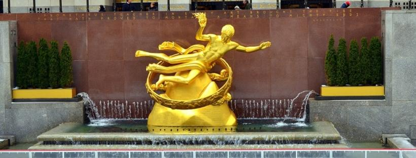 Statue am Rockefeller Center - Kostenlose Sehenswürdigkeiten New York