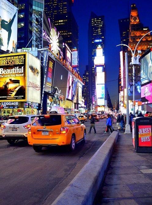 Der Times Square am Abend