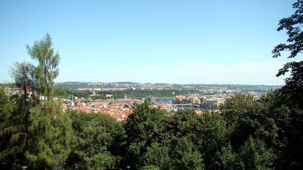 Ausblick auf Prag