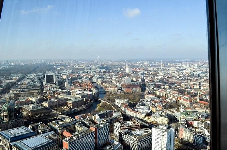 Fernsehturm Berlin Aussicht
