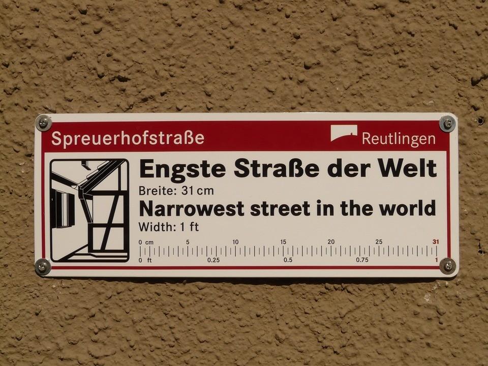 engste-strasse-der-welt-reutlingen