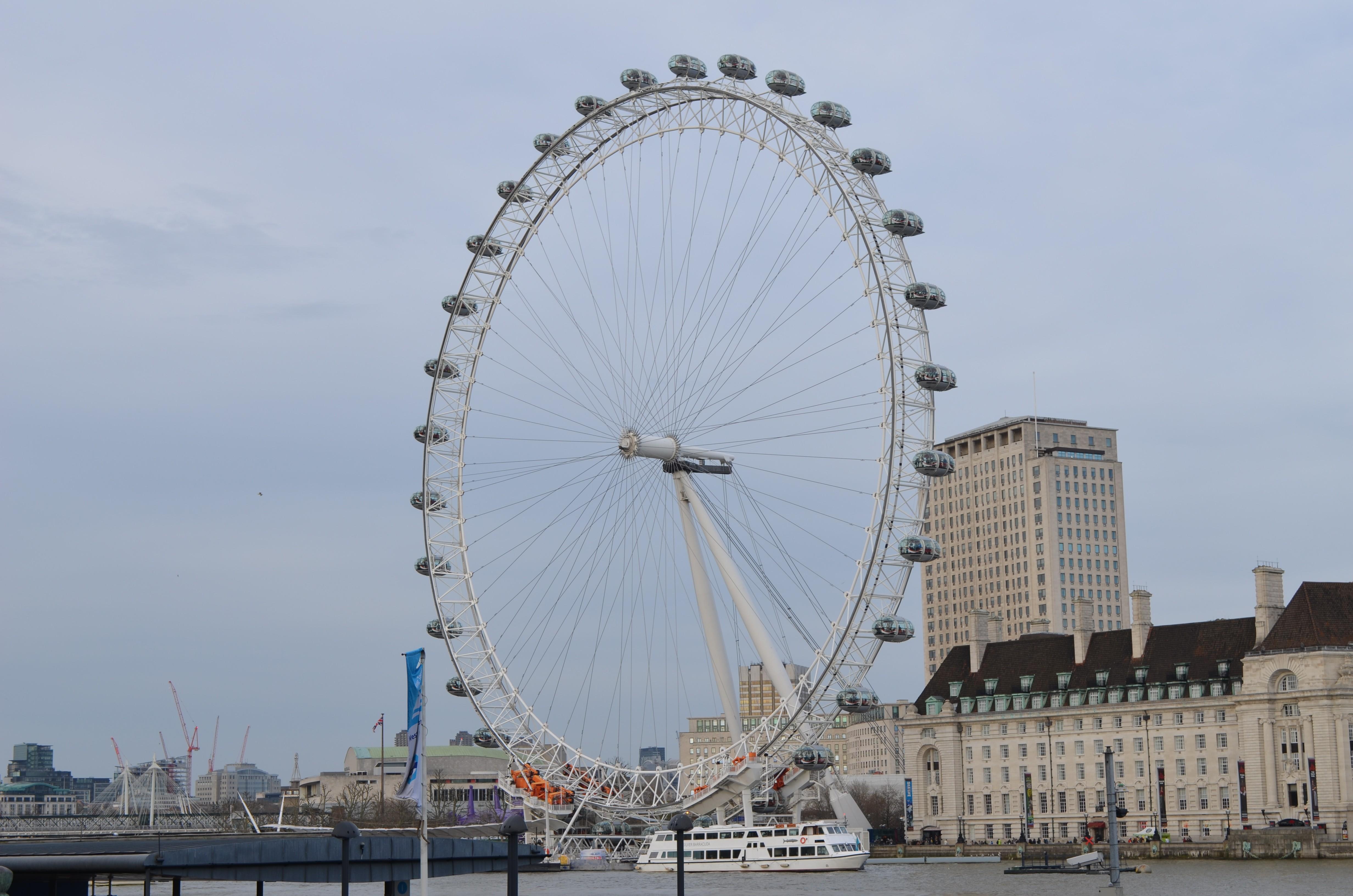 London von oben London Eye