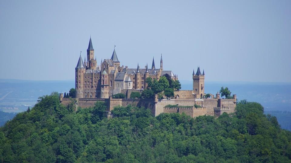 Der Kaiserweg Um Die Burg Hohenzollern Koffergepackt