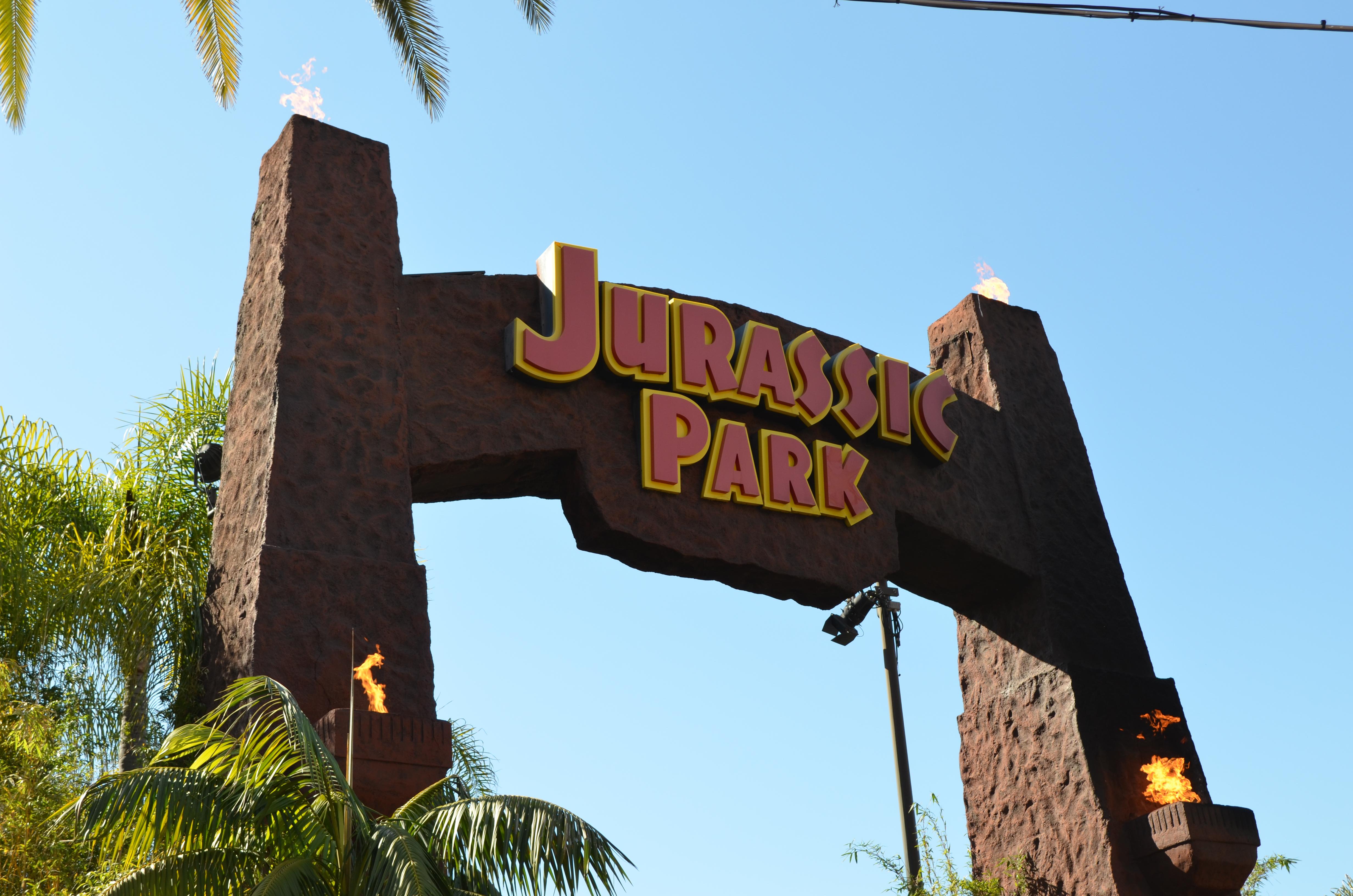 Jurrassic Park Universal Studios Hollywood
