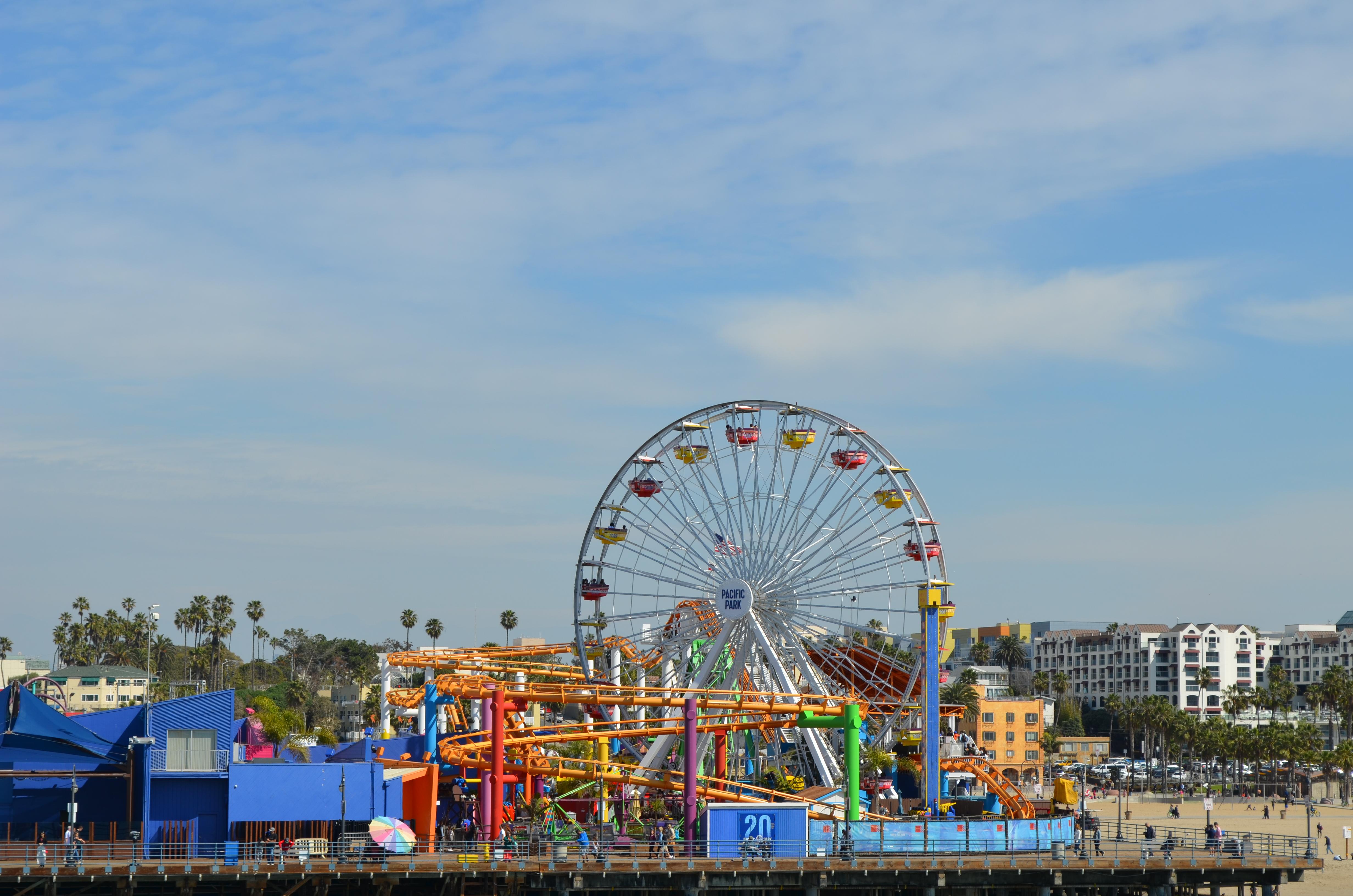 Riesenrad Santa Monica Pier
