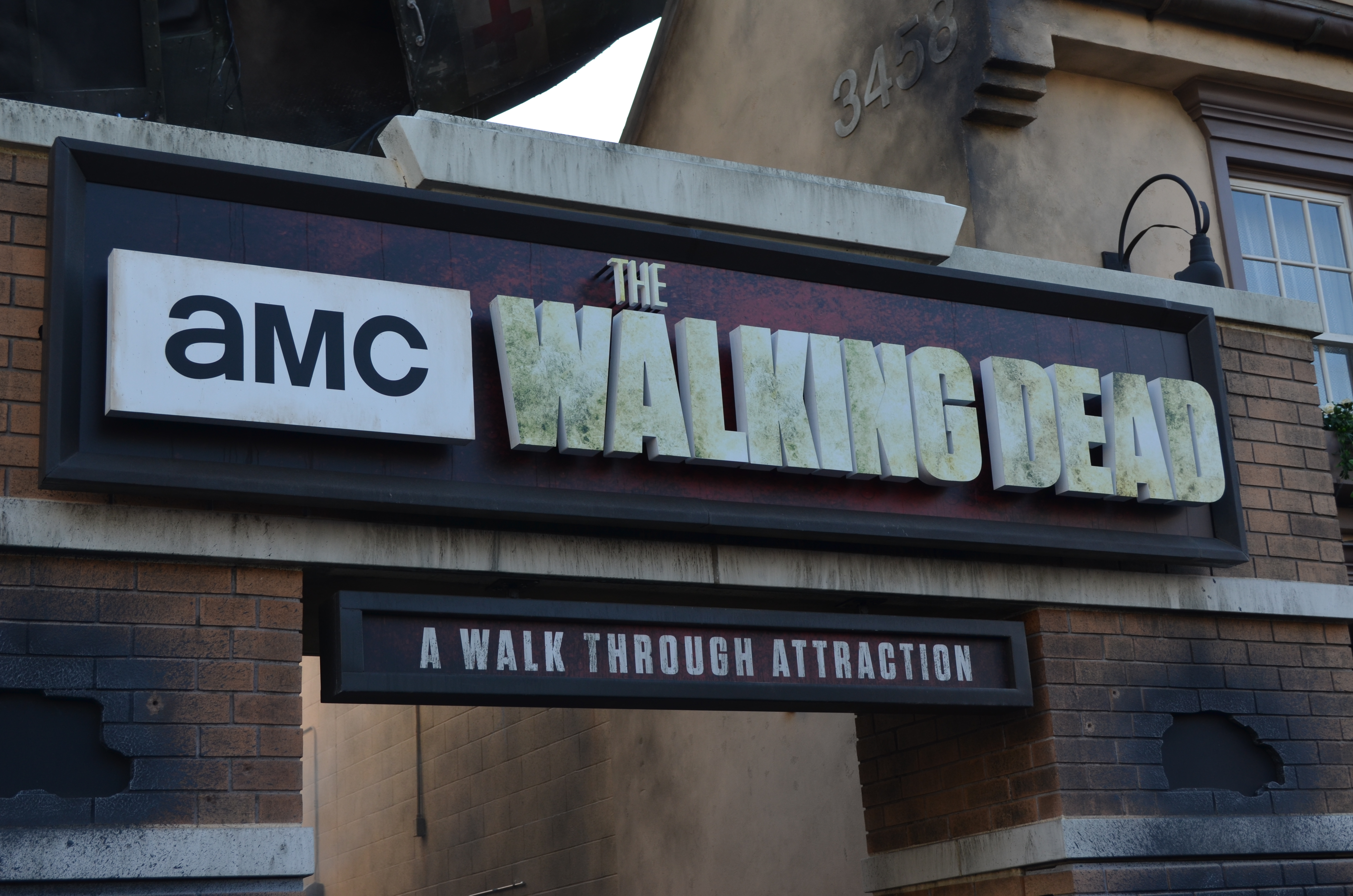 the walking dead Universal Studio Hollwood
