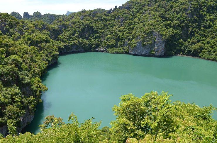 Salzsee im Mu Ko Ang Thong Marine Nationalpark