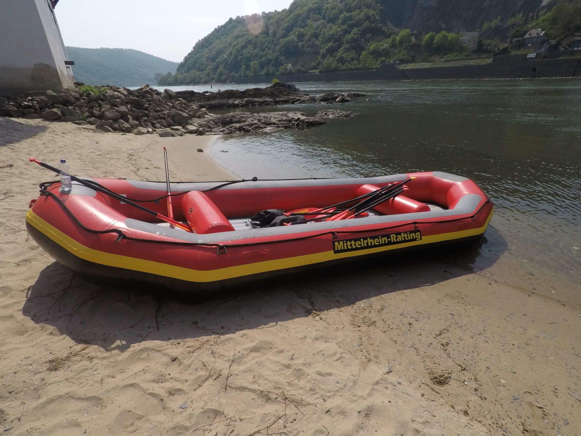 Mittelrhein Rafting Boot