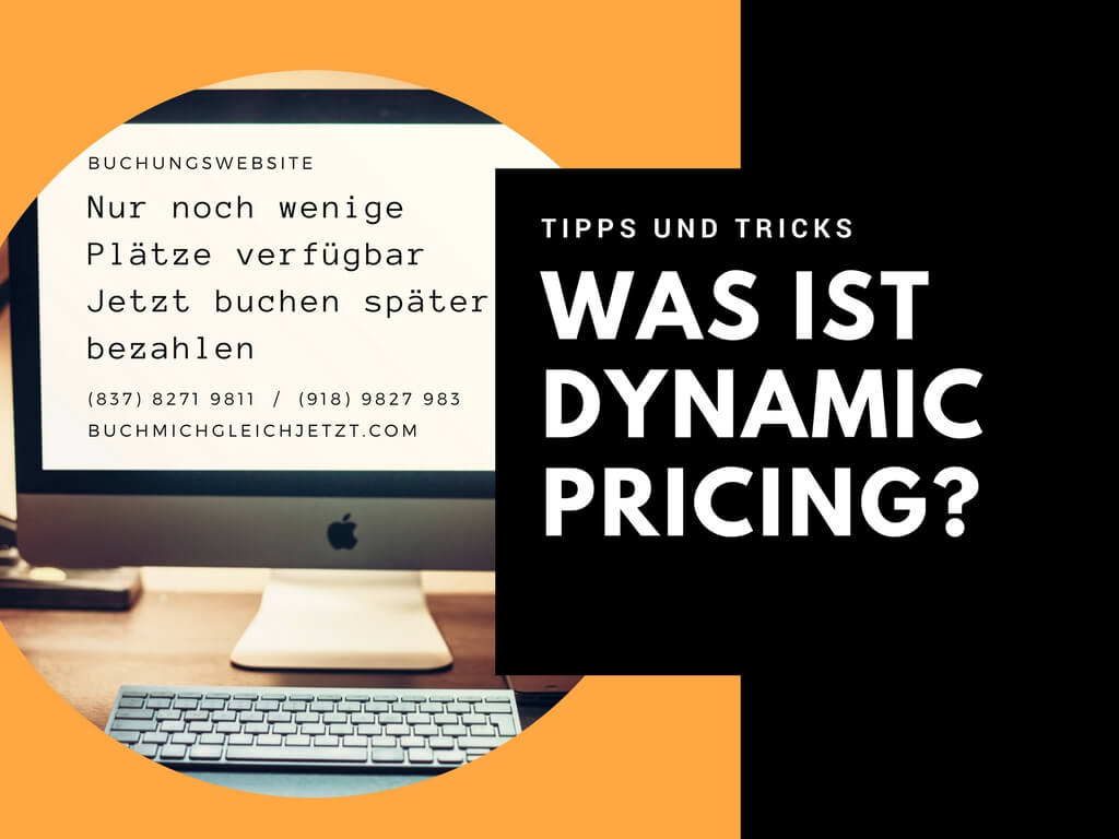Dynamic Pricing Reiseangebote