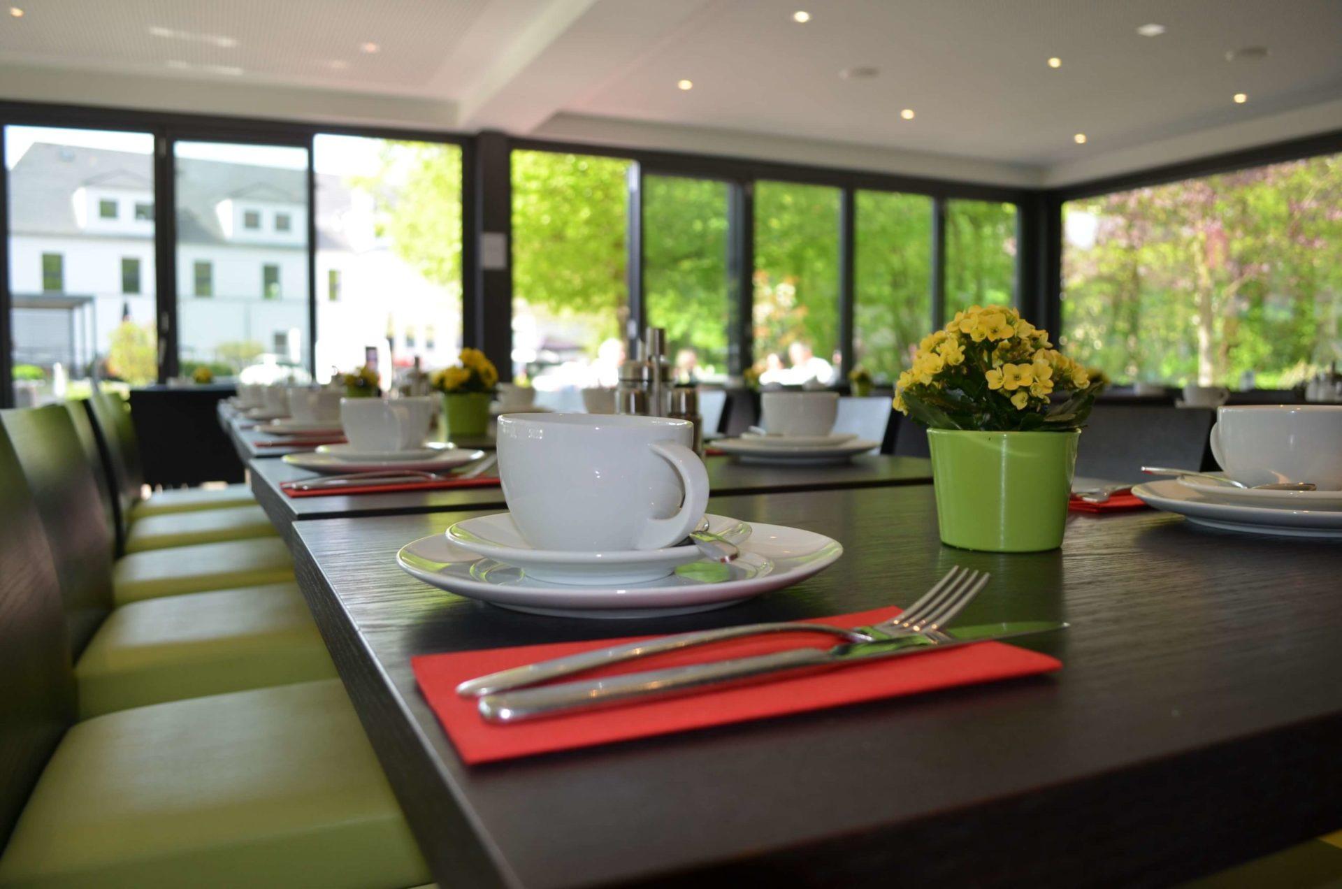 Frühstücksraum Hotel im Schulhaus Lorch