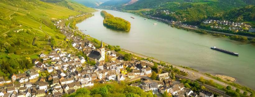 Rheingau Rhein Lorch