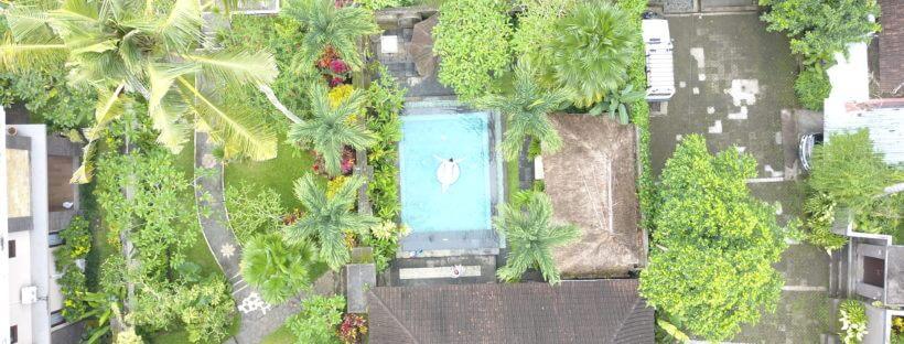 Drohnen Bild Bali Ubud