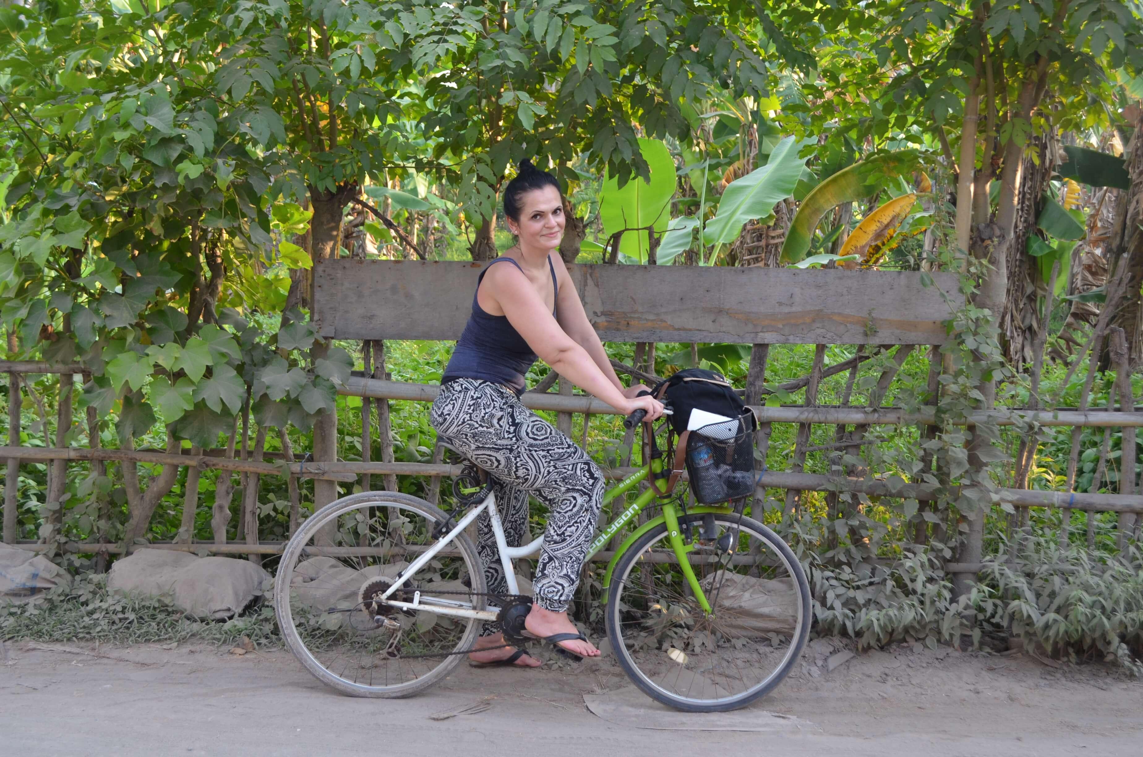 Fahrrad fahren auf Gili Trawangan