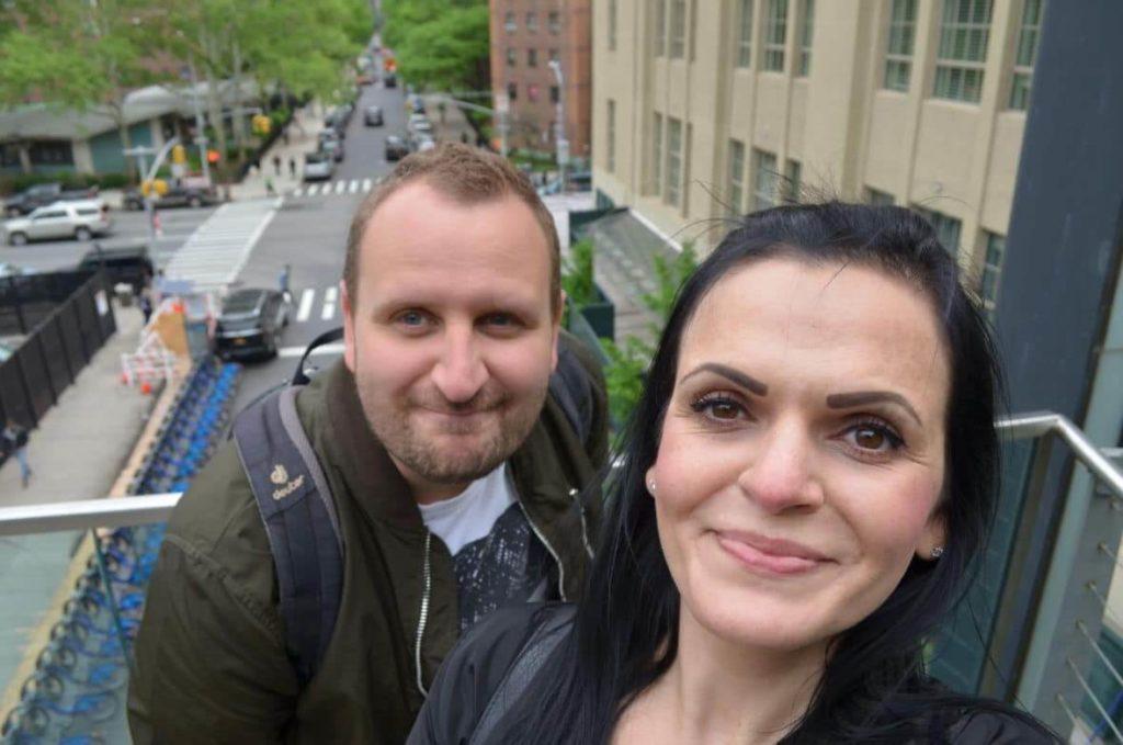 Maria und Mario in New York