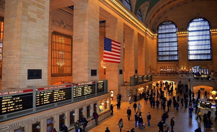 Grand Central Station - ein beliebter Fotospot in New York