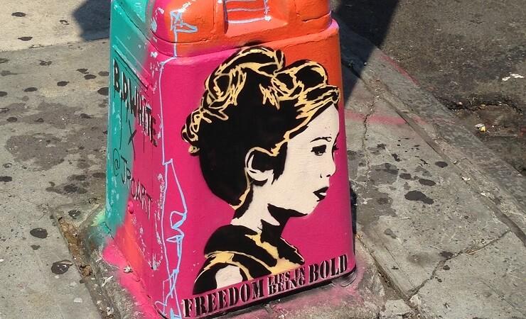 Street Art in Chinatown New York
