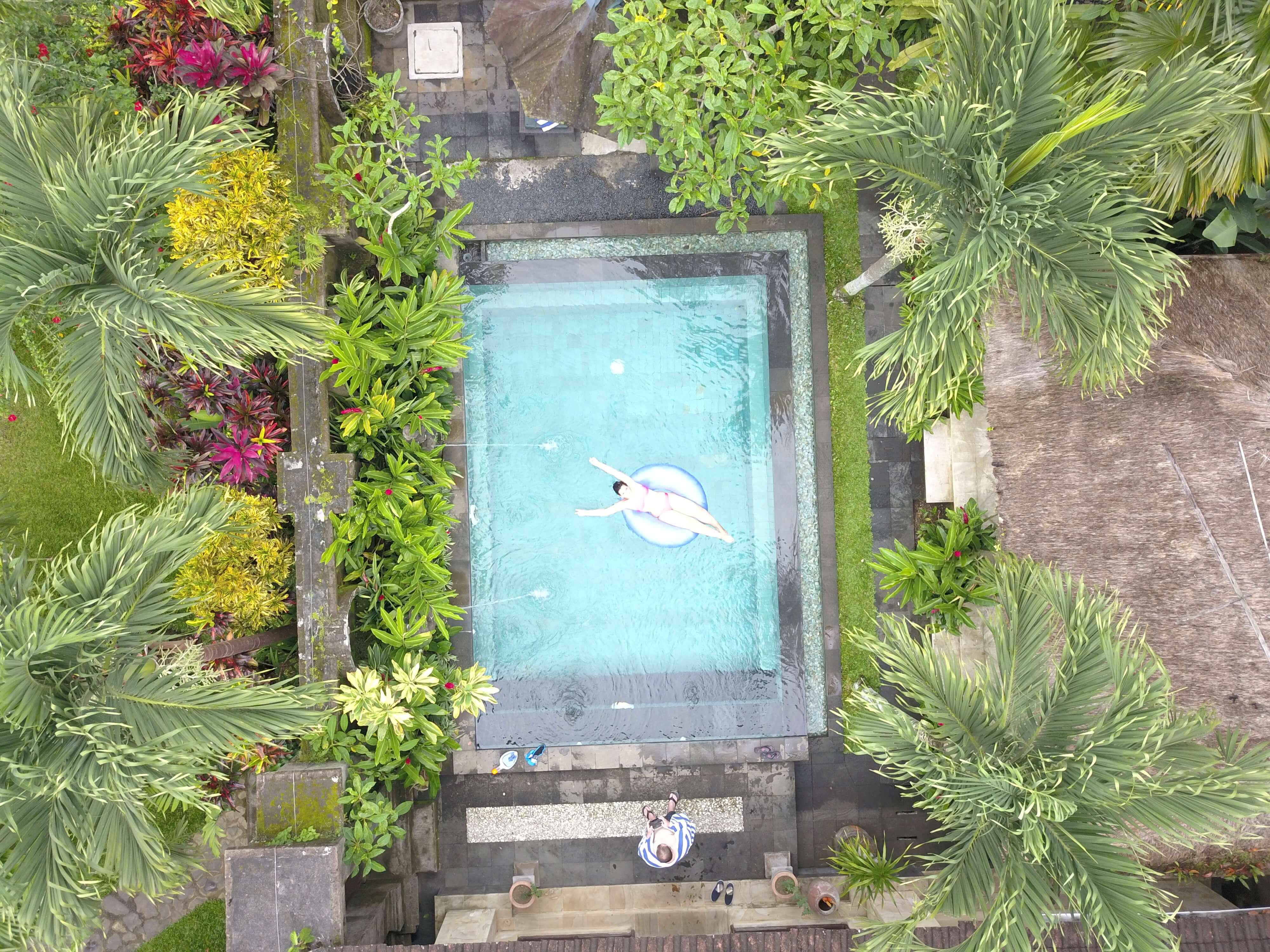 reisen mit einer drohne - Bali Drohnenblid