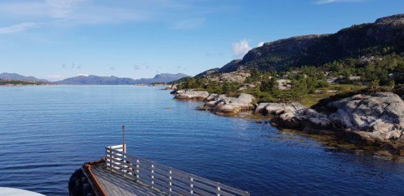 Schöne Aussicht beim Ausflug von Bergen nach Flåm