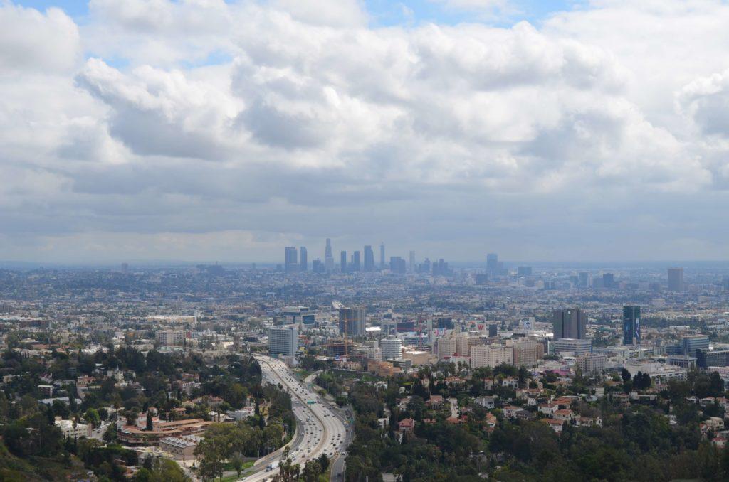 Ausblick auf Los Angeles