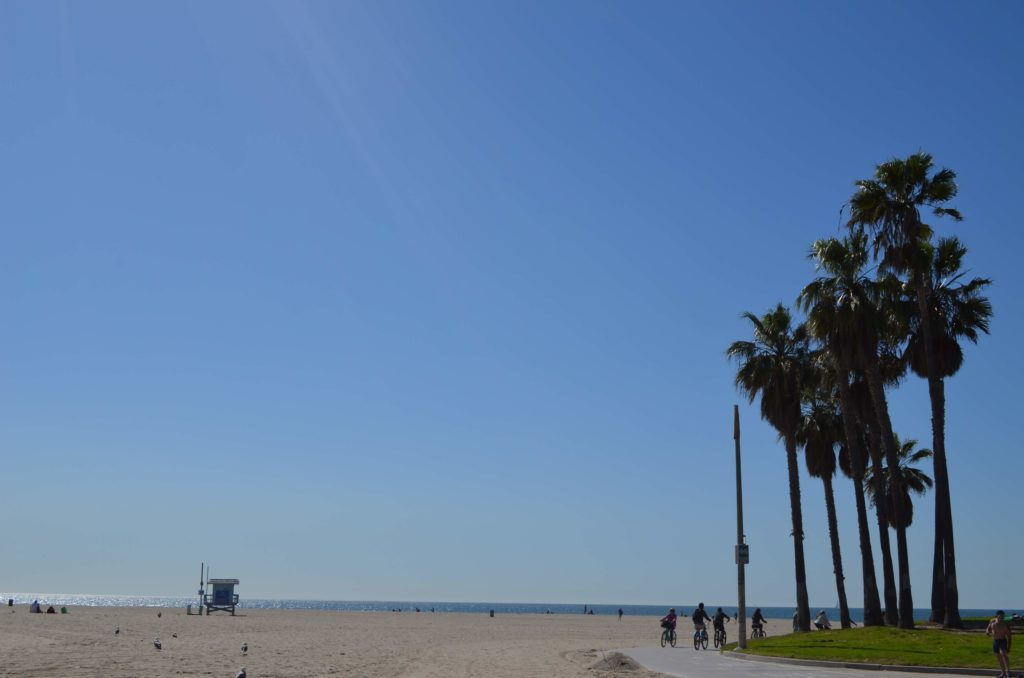Der Venice Beach in Los Angeles