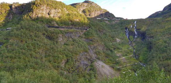 Die Strecke der Flamsbahn