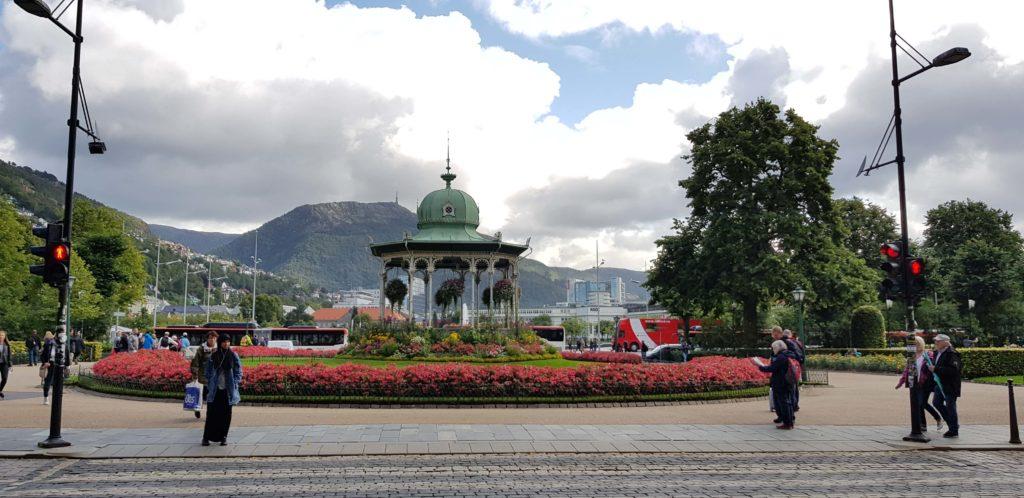 Norwegen Altstadt Bergen