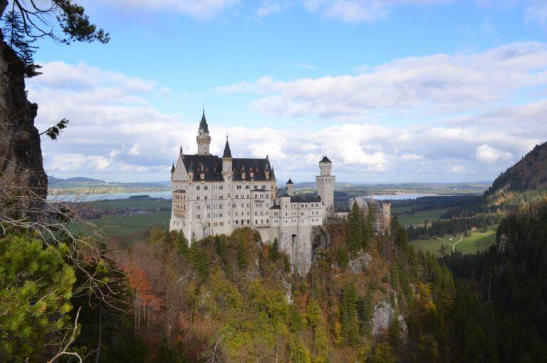 Schöne Urlaubsbilder vom Schloss Neuschwanstein