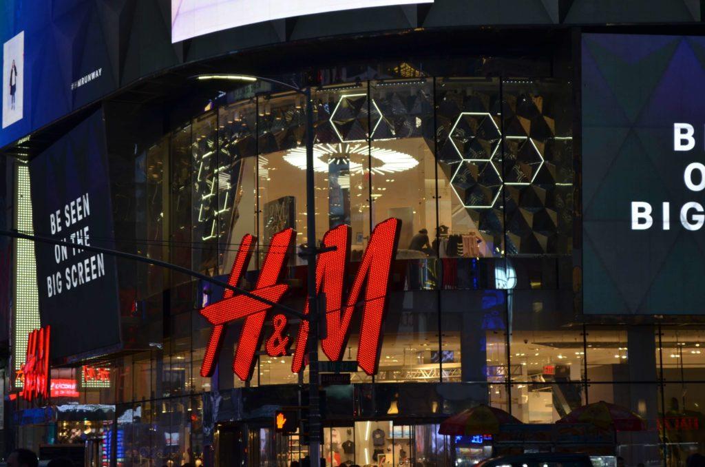 H&M in Manhattan