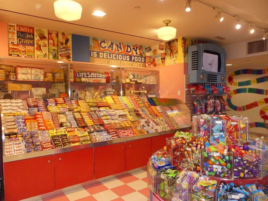 Schokoriegel in Dylan´s Candy Bar New York