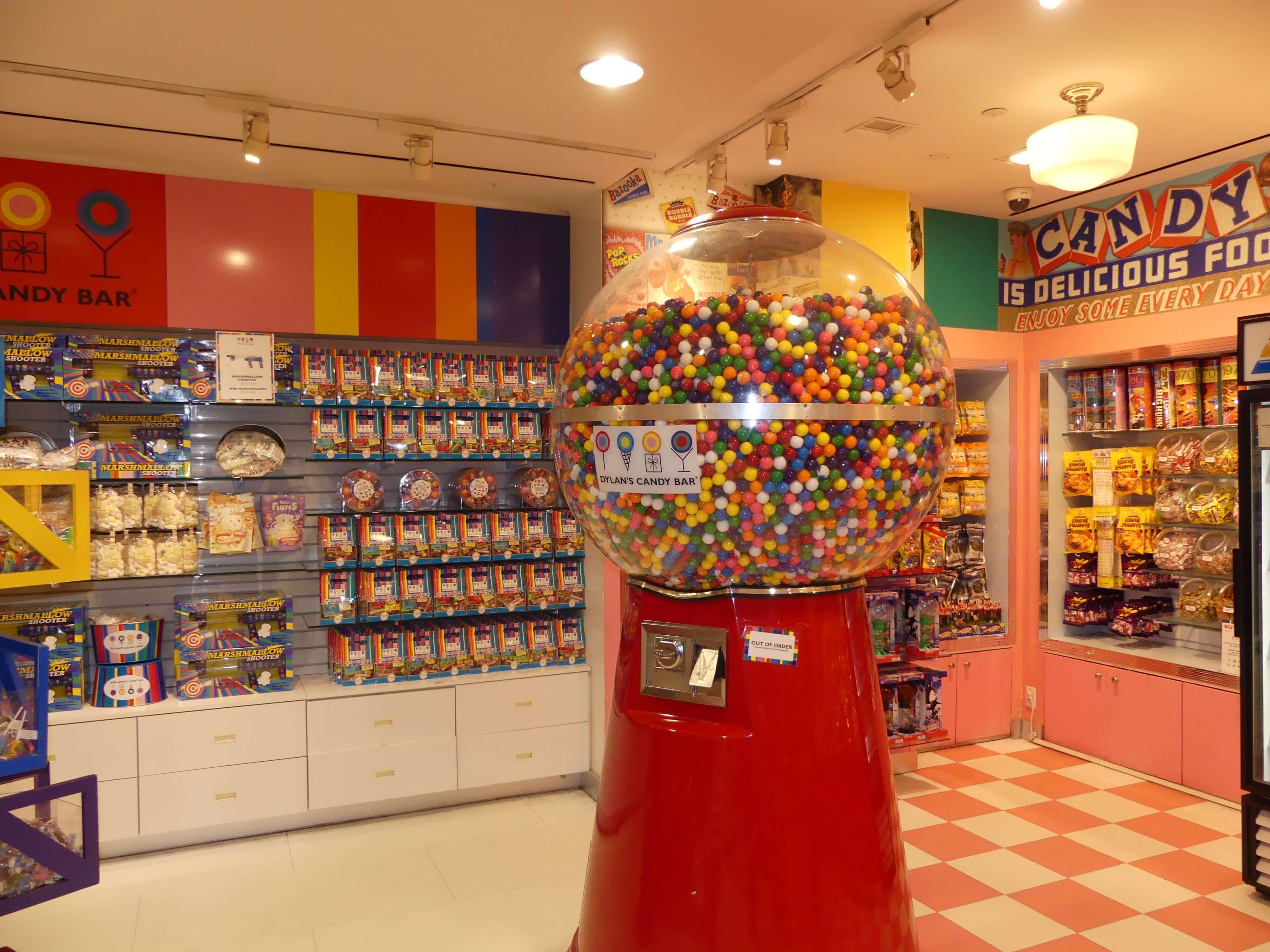 Bunte Süßwaren in Dylan`s Candy Var in New Nork