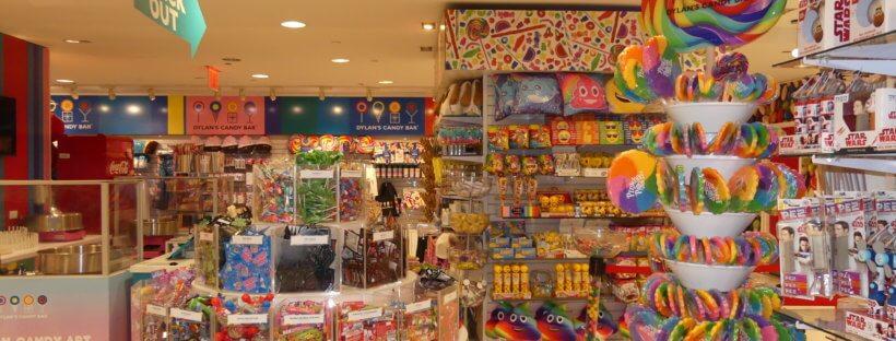 Lauter Süßigkeiten in Dylan`s Candy Bar in Manhattan