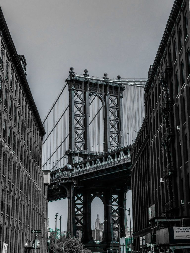 Spaziergänge durch New York - Brooklyn Dumbo