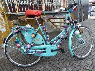 Fahrrad auf der Karli in Leipzig