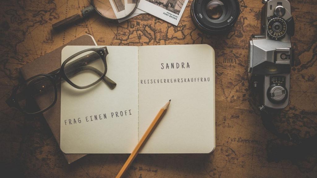 Frag einen Profi Sandra Reiseverkehrskauffrau