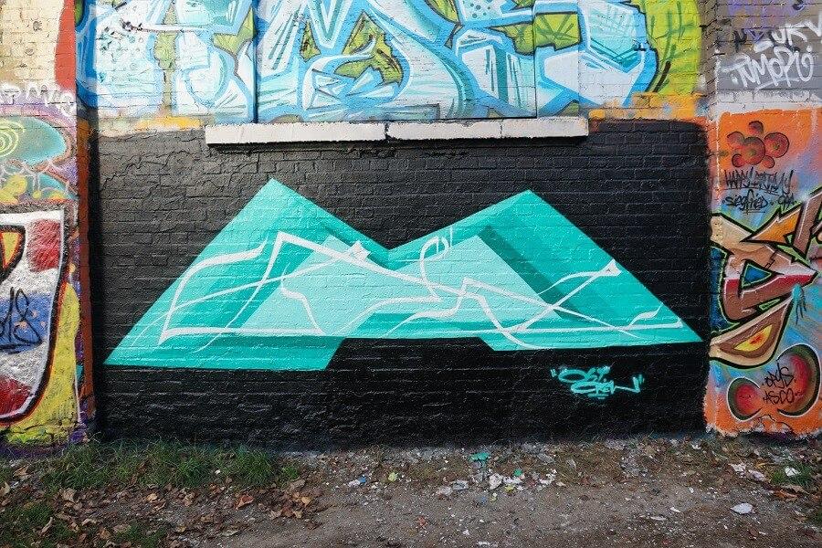 Graffitikunst in Leipzig
