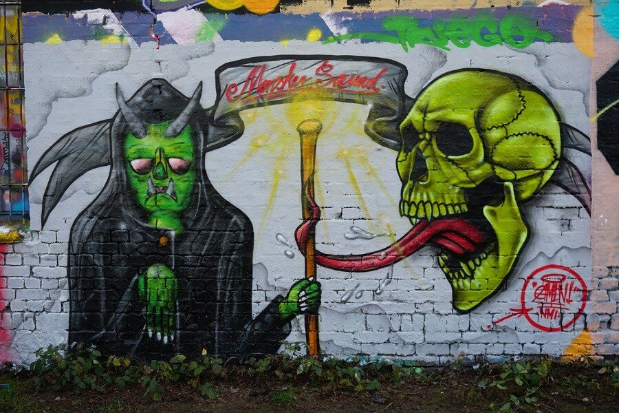 Grafitti Leipzig