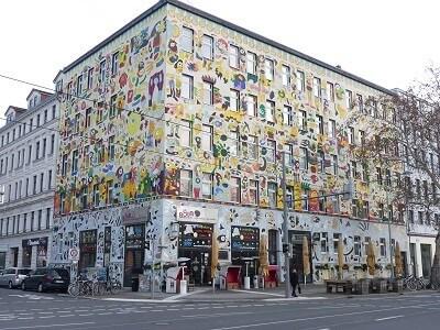 Buntes Haus an der Karli - Sehenswürdigkeiten der Stadt Leipzig