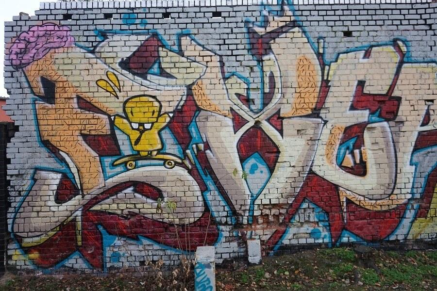 Kunst Plagwitz Leipzig Grafitti