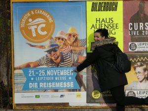 Leipziger TC Reisemesse - Plakat