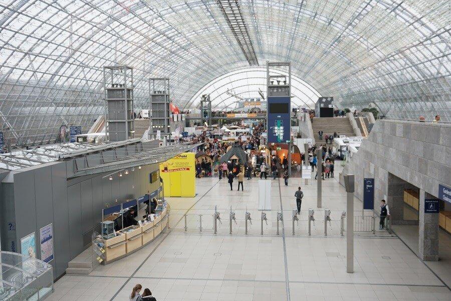 Messe Eingang Leipzig