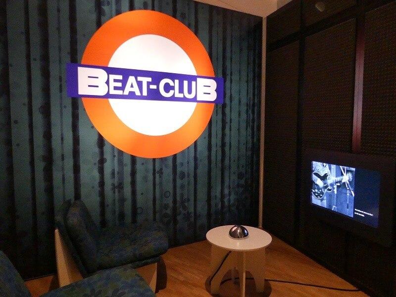 Der Beat Club bei der Oh Yeah Popmusikaustellung