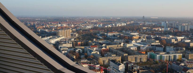 Schönste Sehenswürdigkeiten in Leipzig - Panorama Tower