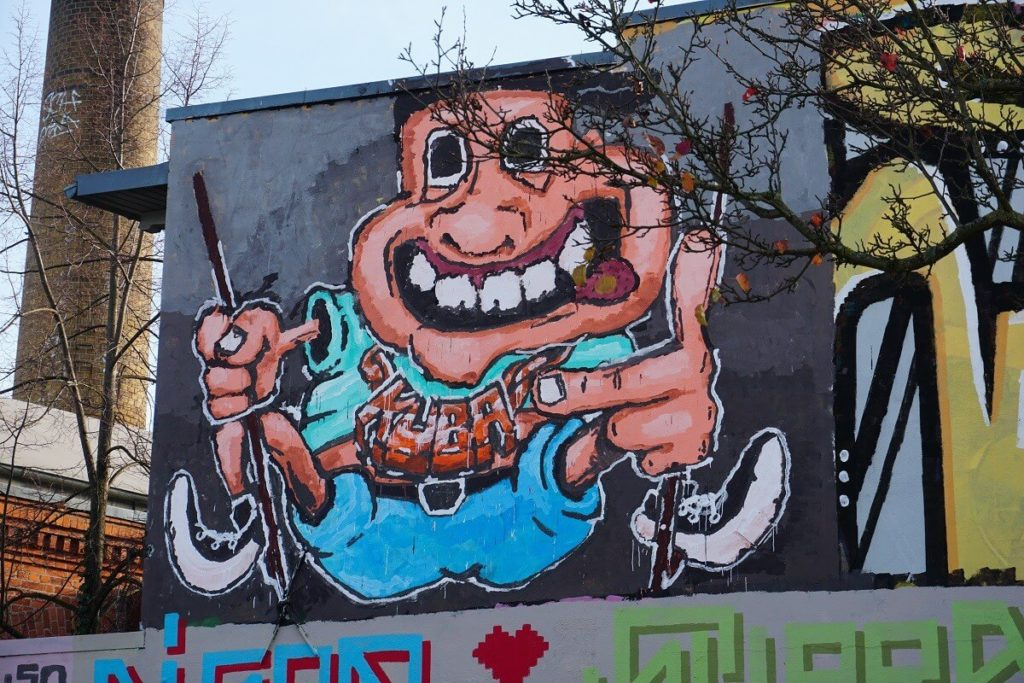 Graffiti Street Art in Leipzig