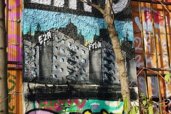 Subkultur Plagwitz Graffiti