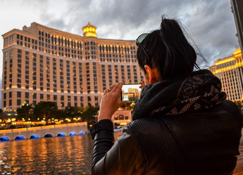 Bellagio Brunnen Las Vegas