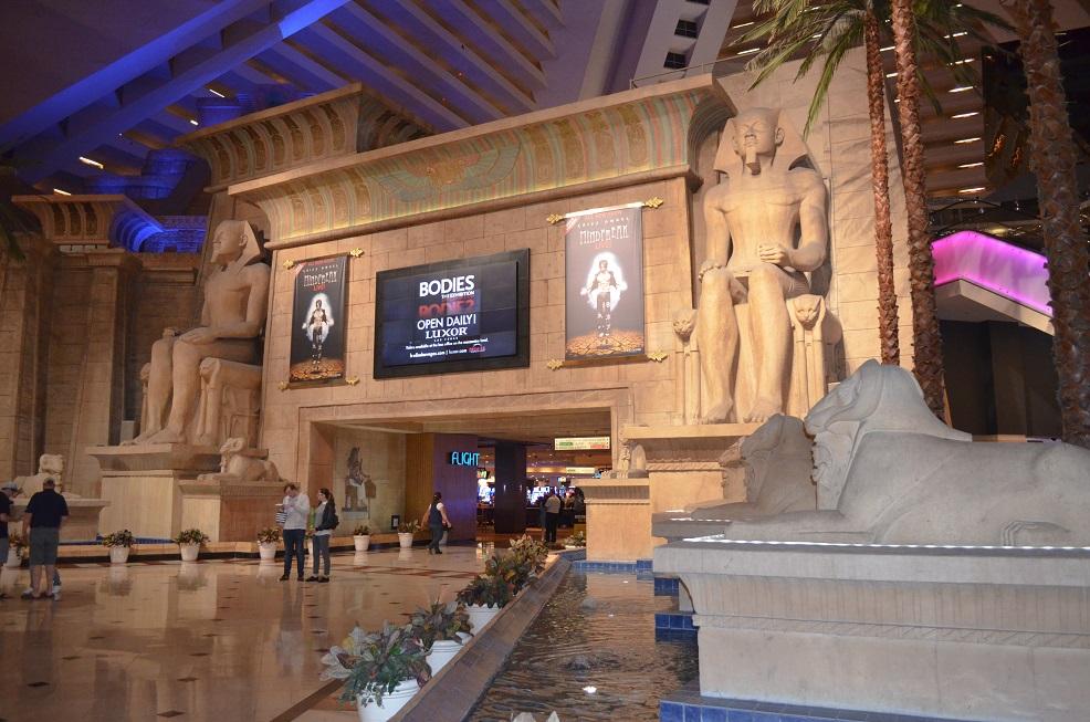 Luxor Hotel innen