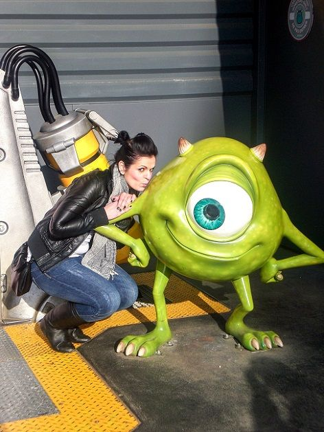 Monster im Disneyland Paris