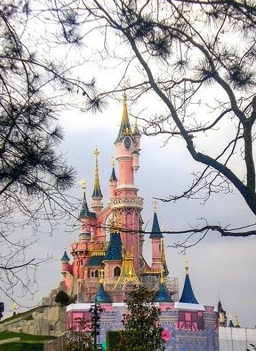 Disnayland Paris Schloss
