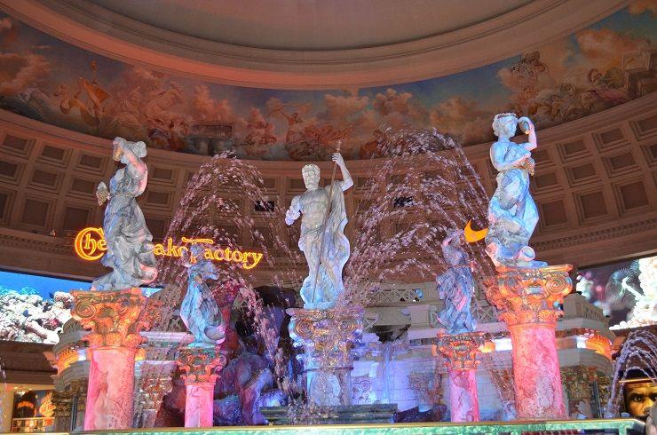 kostenlose Sehenswürdigkeiten Caesars Palace