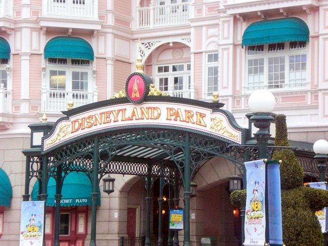 Disneyland Paris Eingang